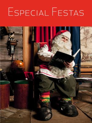 Viagens+Especial Festas+Laponia+Natal+Reveillon+Pai-natal+Santa claus village+neve+Ferias+fim de ano+Passagem de ano+Prendas+