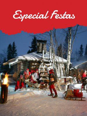 Especial festas+,Lapónia+,Santa Claus+,Rovaniemi+,Réveillon+,passagem de ano+,Natal+,TerradoPai-natal+,Finlandia+,Islandia+,Noruega+,Mercados de Natal+,Tromso+,Auroras+, fiordes+,